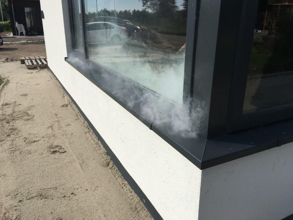 Rooktest in Bedum, Groningen